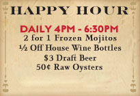 Happy Hour at Superior Seafood