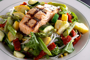 Salmon Salad Superior Seafood New Orleans