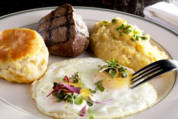 Steak and Eggs Superior Seafood New Orleans